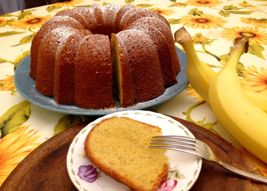 Cake banane muscovado Michalak