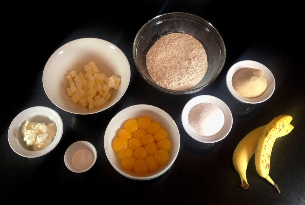 Ingr Cake Banane Michalak